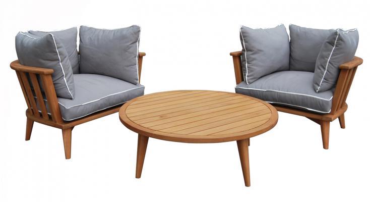 Комплект мебели из акации Barcelona