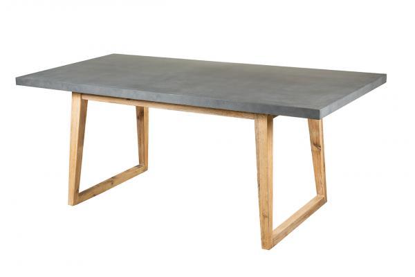 Стол из экобетона Woody-U (180*90см H75см)