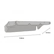 Тент для качелей серый (1050-7)