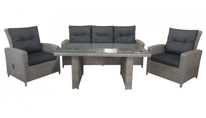 Комплект плетеной мебели San Marino