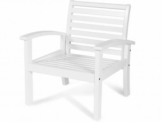 Кресло белое Visby