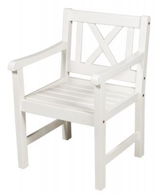Кресло белое Onsala
