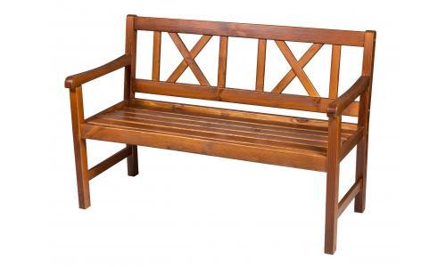 Скамейка садовая Onsala 129см (Капучино)