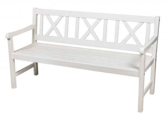 Скамейка садовая Onsala 150см (Белая)
