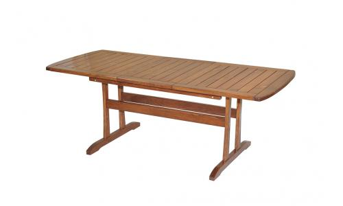 Стол раскладной Rodos 150/200*85 см (капучино)