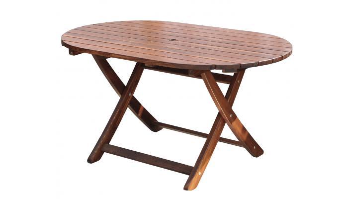 Стол складной Madrid 140x85 см