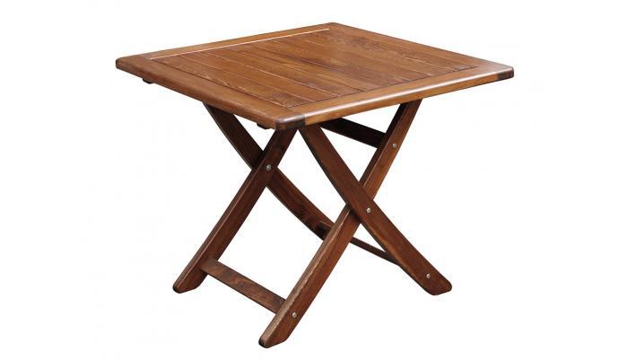 Стол складной Vega 85x85 см (капучино)