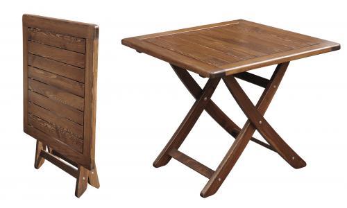 Стол складной Vega 85x85 см
