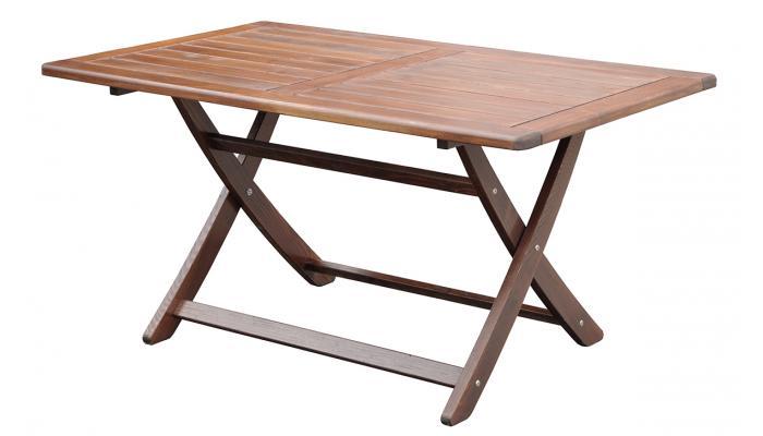 Стол складной Vega 150x85 см (капучино)